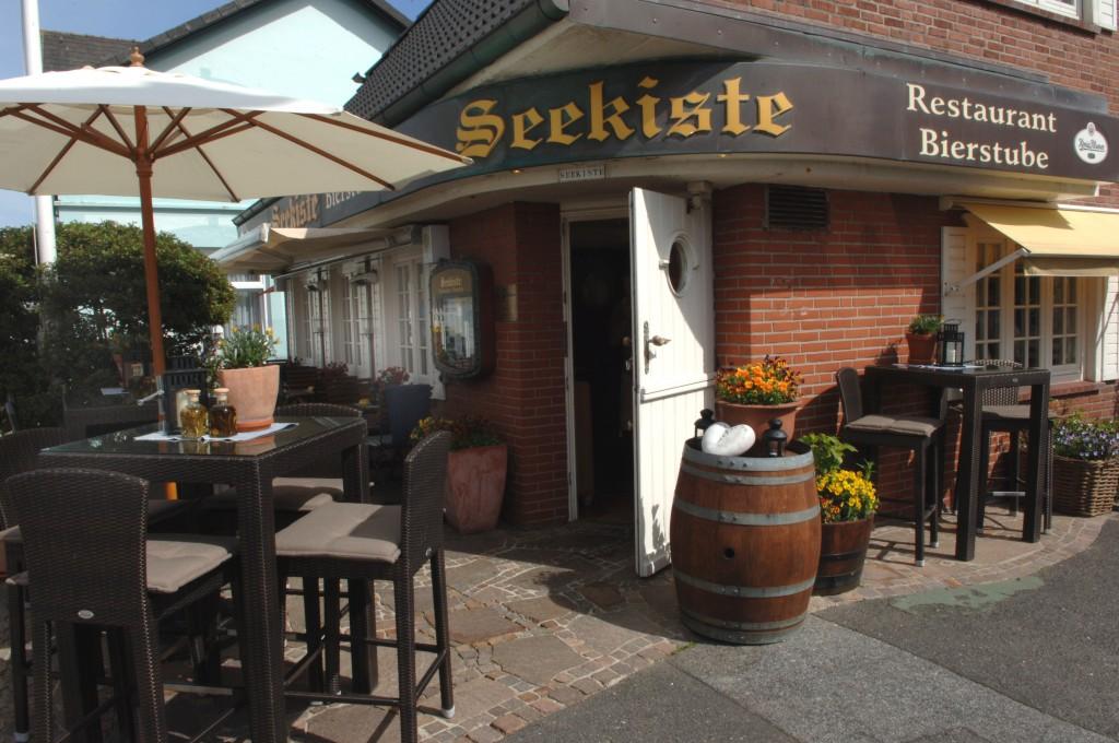 Seekiste_Restaurant_Sylt Westerland_aussen